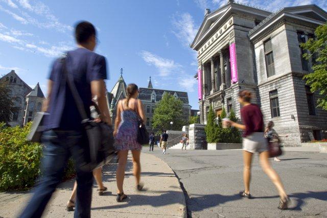 Le campus de l'Université McGill.... (Photo: Alain Roberge, La Presse)