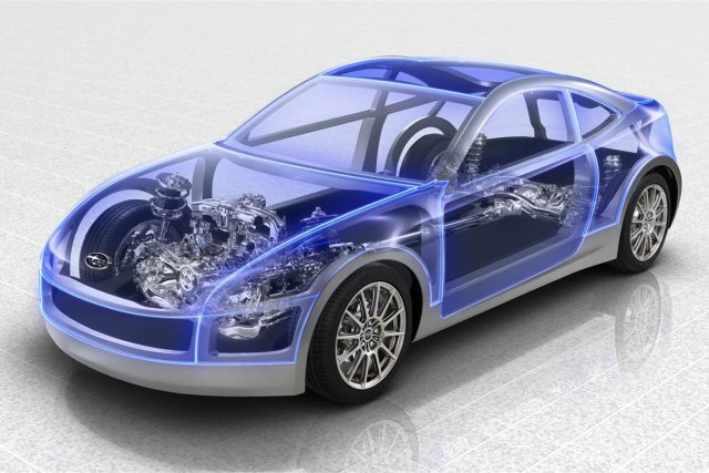 Le coupé sportif que Subaru prépare actuellement en... (Photo extraite de Google)