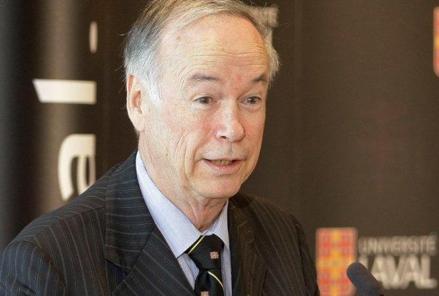 Le recteur de l'Université Laval, Denis Brière... (Photothèque Le Soleil, Pascal Ratthé)