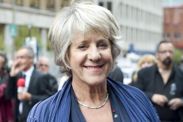 Denise Bombardier, que l'on voit ici à l'ouverture... (Photo: PC)