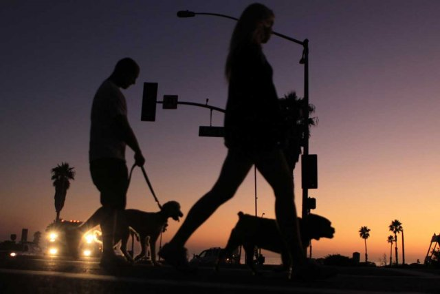 Plus d'un million de Californiens n'ont plus d'électricité.... (Photo Reuters)