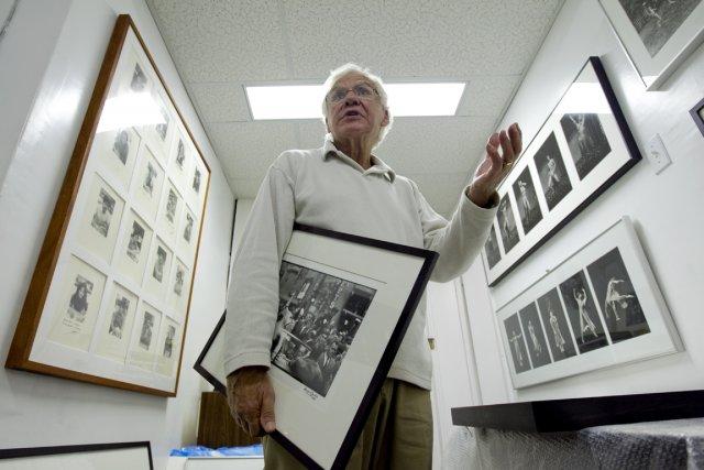 Le photographe George S. Zimbel fait l'objet de... (Photo: Alain Roberge, La Presse)