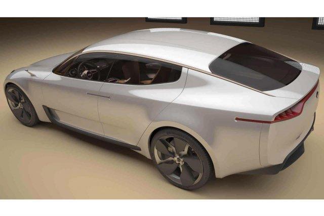La Kia Concept IAA devrait donner lieu à... (Photo fournie par Kia Motors)
