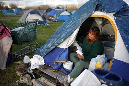 En chiffres absolus, les 46 millions d'Américains qui... (Photo: AFP)