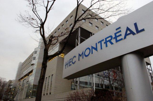 L'école des Hautes Études commerciales (HEC).... (Photo: André Tremblay, La Presse)