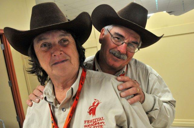 Annette et Gordon Villeneuve, deux Ontariens qui ont... (Photo: Stéphane Lessard)