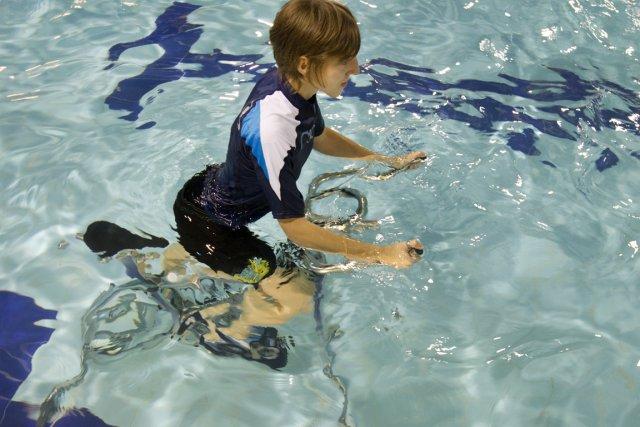 «Souvent, quand on bouge dans l'eau, on sent... (Photo: Robert Skinner, La Presse)