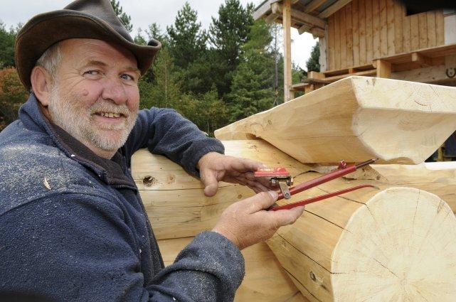 Le bois rond plus populaire patricia rainville progr s for Camp en bois rond