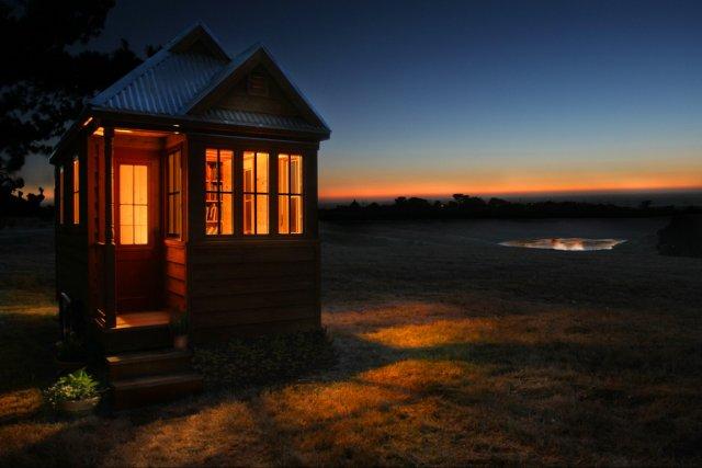 Aux États-Unis, on répertorie environ un millier de... (Photo: fournie par Tumbleweed Tiny House Company)