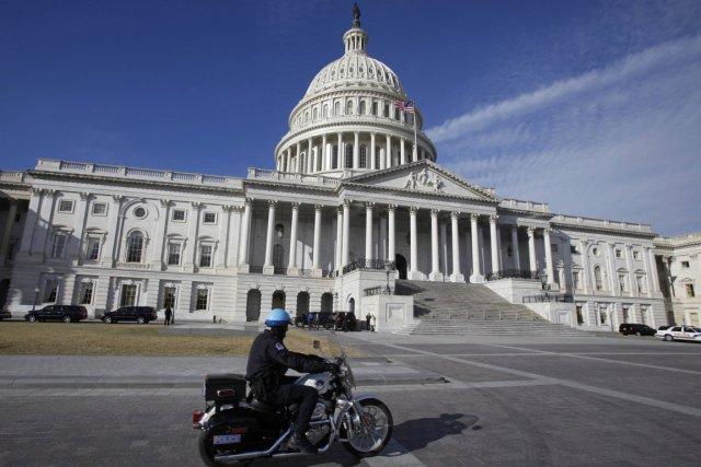 Le Capitole des États-Unis est le bâtiment qui... (Photo: Jim Bourg, Reuters)