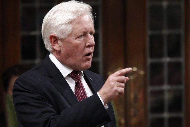 Le chef intérimaire du Parti libéral, Bob Rae,... (Photo: Chris Wattie, Reuters)
