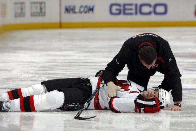 Patrik Elias, des Devils du New Jersey, a... (Photo: AP)