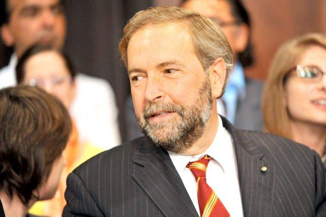 Le député néo-démocrate d'Outremont, Thomas Mulcair, est toujours... (Photothèque Le Soleil)