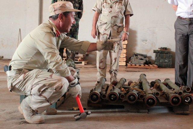 «Plus de 14 000 de ces missiles ont... (Photo: AFP)