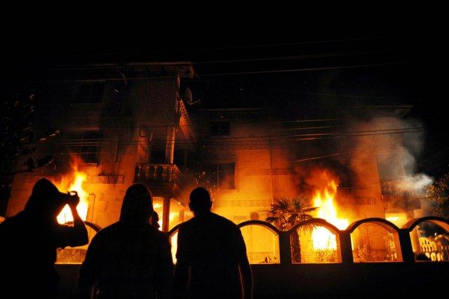 L'étincelle a été allumée le 24 septembre par... (Photo: AFP)