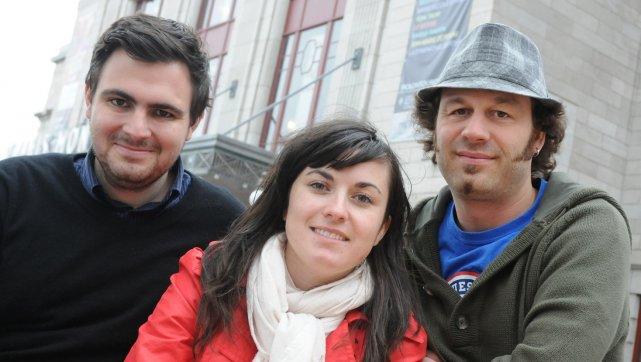 Les trois programmateurs du Festival de cinéma de... (Le Soleil, Martin Martel)