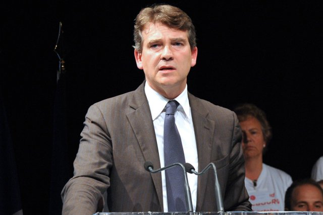 Le minstre du Redressement productif, Arnaud Montebourg, a... (Photo: AFP)