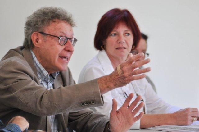 Claude Gélinas et Liliane Guay ont fait le... (Photo: Émilie O'Connor)