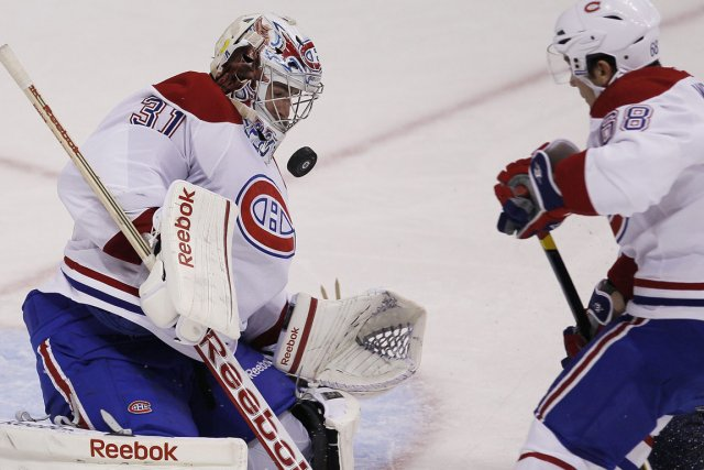 Carey Price a été solide pour garder les... (Photo: PC)