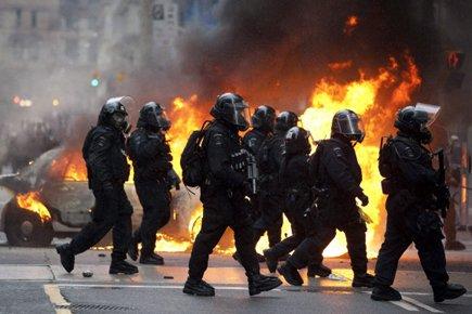 Les manifestations et les actes de vandalisme avaient... (Photo: PC)