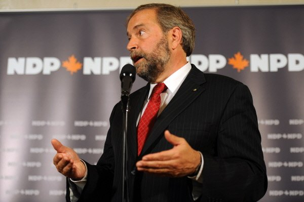 Thomas Mulcair,... (Archives La Presse)