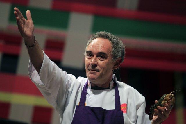Ferran Adria s'est rendu à Lima, en septembre,... (Photo: Pilar Olivares, Archives Reuters)