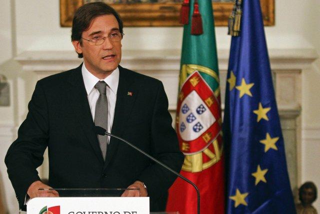 Le premier ministre portugais Pedro Passos Coelho.... (Photo: AFP)