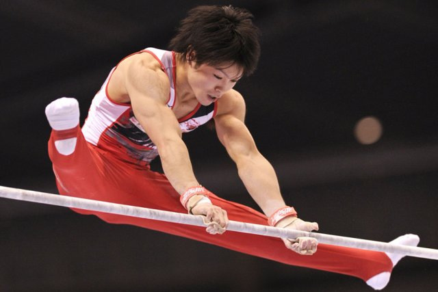 gymnastique kohei uchimura sacr pour la troisi me fois. Black Bedroom Furniture Sets. Home Design Ideas