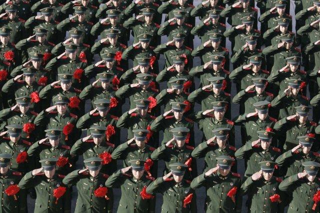 L'armée chinoise dispose aujourd'hui d'un énorme réseau souterrain... (Photo: Archives Reuters)