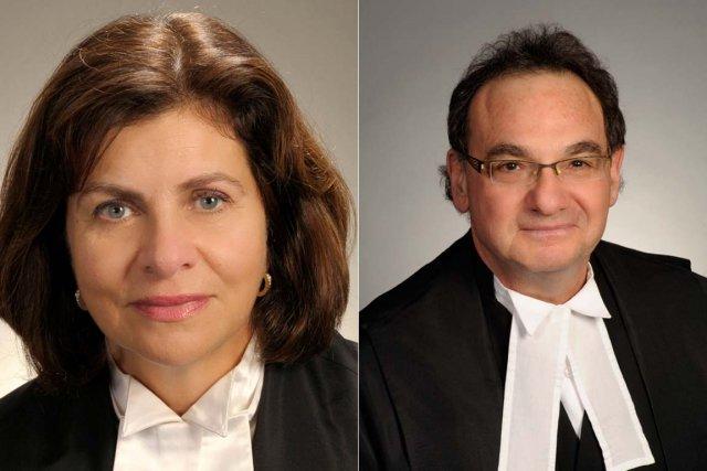 La jugeAndromache Karakatsanis parle trois langues. Le jugeMichael... (Photos fournies par le gouvernement fédéral)