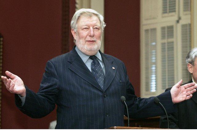 Henri-FrançoisGautrin, un des plus anciens députés de l'Assemblée... (Photo d'archives Jacques Boissinot, PC)