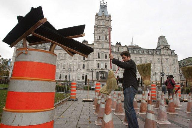Les Québécois sont les plus désabusés du pays... (Photo: PC)