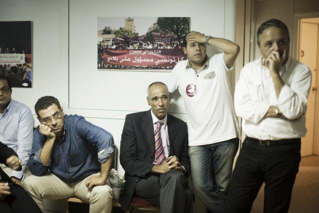 Le parti islamiste d'Ennahdha a raflé la moitié... (Photo: Moises Saman, Tne New York Times)