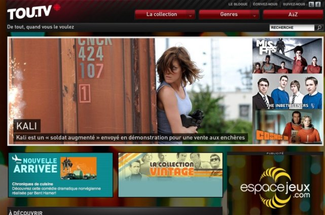 Le site Tou.tv sera dorénavant accessible sur Xbox... (Tou.tv)