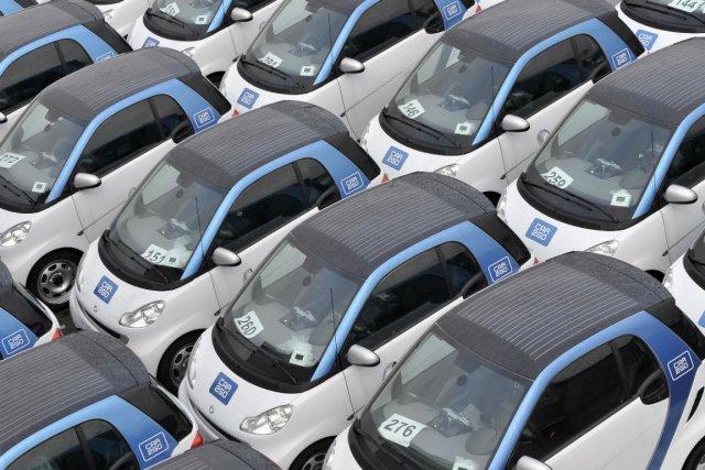 Le service car2go existe dans quatre villes dans... (Photo Bloomberg News)
