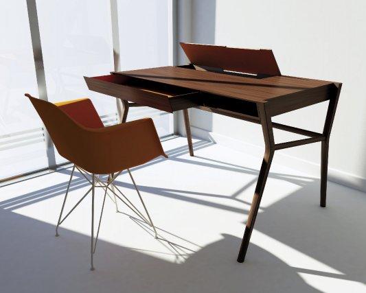 le secr taire l 39 re technologique lucie lavigne design. Black Bedroom Furniture Sets. Home Design Ideas