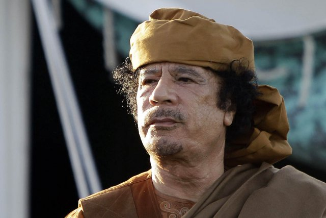 La Libye de Mouammar Kadhafi a investi dans... (Photo: Joseph Eid, Archives AFP)