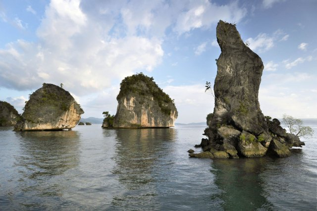 Kabui Bay à Raja Ampat... (Photo: AFP)