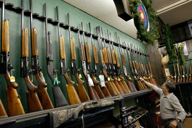 L'arme à feu  est dangereuse, partout, tout... (Photo: Archives La Presse)