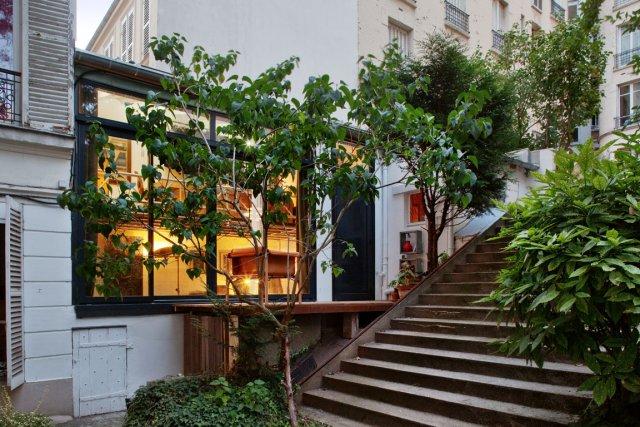 La vie dans un jardin de paris violaine ballivy immobilier for Restaurant dans un jardin paris