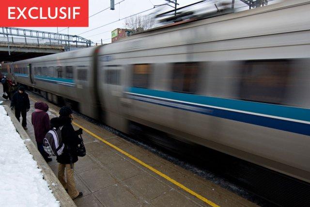Chaque jour de la semaine, 48 trains électriques... (Photo: David Boily, Archives La Presse)