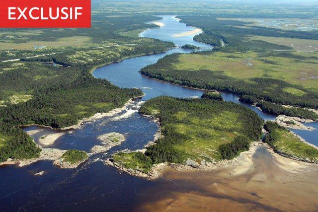 Le projet de La Romaine sur la Côte... (Photo fournie par Hydro-Québec)