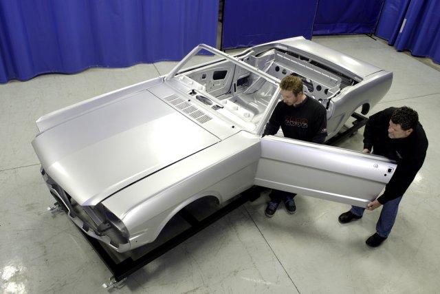 Nouvelle carrosserie de Ford Mustang 1965.... (Photo fournie par Ford)