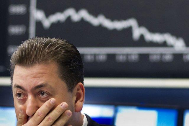 La Bourse de Paris a ainsi démarré en... (Photo AFP)