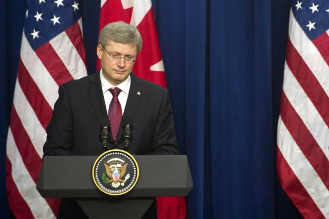 Stephen Harper... (photo: afp)