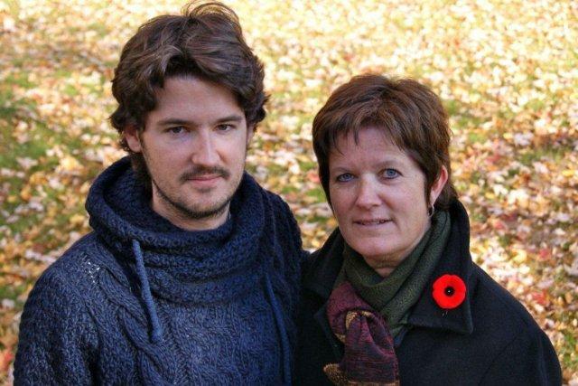 Michelle Payette-Daoust et son fils Simon.... (photo: fournie par l'auteure)
