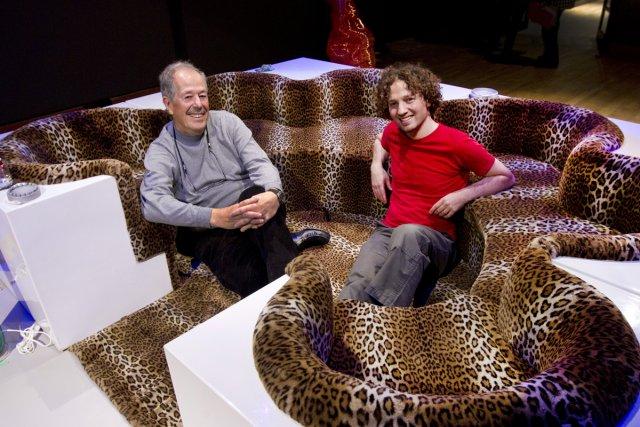 Denys Arcand et Adad Hannah... (Photo: Robert Skinner, La Presse)