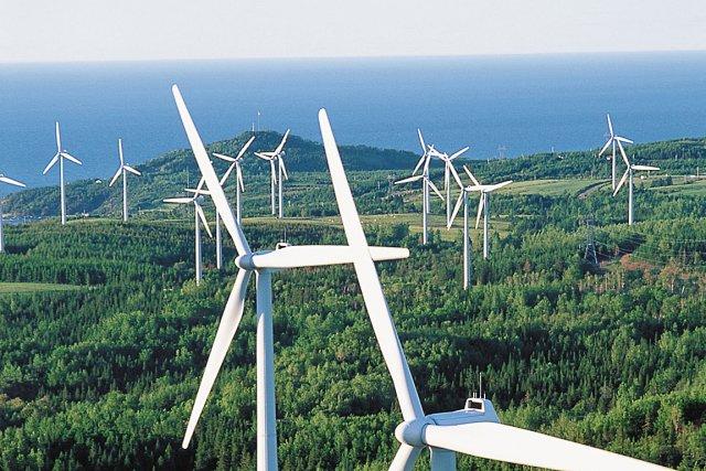 Le parc éolien de Lac-Alfred... (Photothèque Le Soleil)