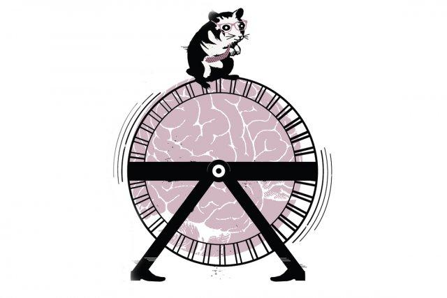 Un hamster? Oui, vous savez, cette petite bête qui trotte et trotte sans cesse,... (Illustration: La Presse)