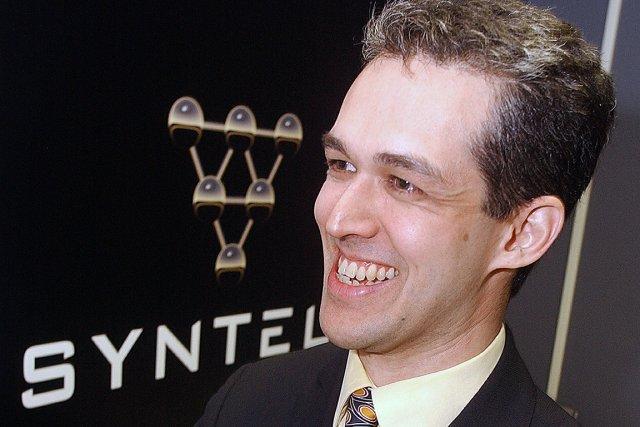 Le président de Syntell, Patrick Schwark...